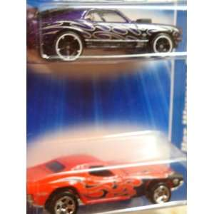 Hot Wheels 1970 Ford Mustang Mach 1   Dodge Dixie Challenger 5 Spoke