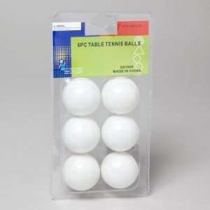 White Table Tennis Balls Case Pack 48