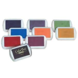 Colorbox Color Box Fluid Chalk Stamp Pads   Set of 8