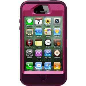 Otterbox Defender Case for Iphone 4s (Peony Pink/deep Plum