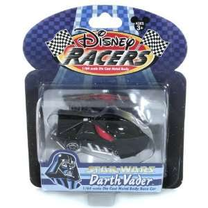 64 Scale Die Cast Metal Body Race Car   Star Wars Darth Vader Toys