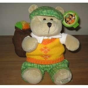 Starbucks Coffee 2006 Bearista Teddy Bear Golfer Toys