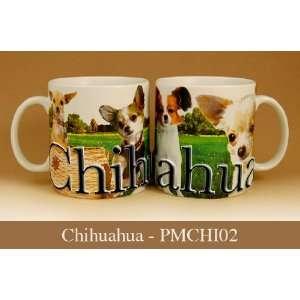 Americaware 18 oz Stoneware Mug Chihuahua Best Friend Series