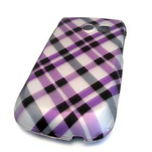 Samsung R375c Straight Talk Pink Black Plaid HARD