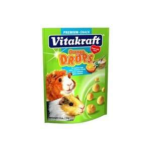 Vitakraft Guinea Pig Orange Drops, 5.3 Ounce Pouch