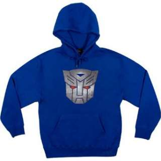 Transformers Movie Autobot Logo with Glowing Eyes Hooded