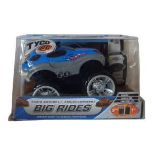 Tyco R/C Big Rides Radio Control Blue Car 27 MHz Toys
