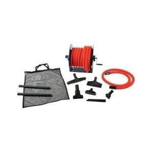 Tec Central Vacuum Garage Kit 50 Ft. with Hose Reel