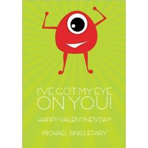 Eye On You Valentine Cards