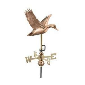 Good Directions Garden Weathervanes Flying Duck Polished