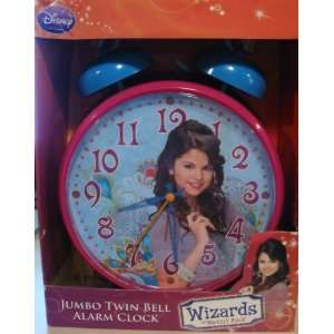 Place   Selena Gomez Jumbo Twin Bell Alarm Clock Home & Kitchen