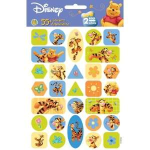 Disney Winnie The Pooh & Tigger Stickers   2 Sheets  Toys & Games