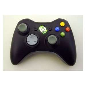 Xbox 360 Rapid Fire 6 MODE Wireless Stealth BLACK Controller w/ Burst