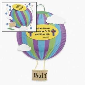 Paper Plate Hot Air Balloon Craft Kit   Craft Kits & Projects
