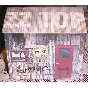 Signed Billy Gibbons ZZ Top Chrome Smoke BBQ CD Box Set