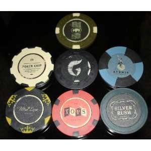 Fallout New Vegas LUCKY 7 POKER CHIPS: Everything Else