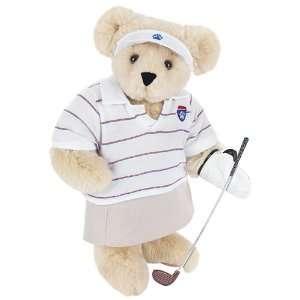 15 Lady Golfer Bear   Buttercream Fur  Toys & Games