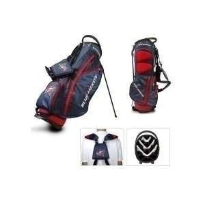 Columbus Blue Jackets Fairway Carry Stand Golf Bag  Sports