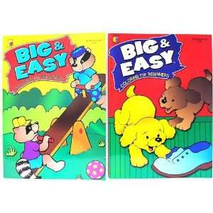 Big & Easy Coloring for Beginners 96pgs Case Pack 80