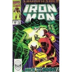 Iron Man, Vol. 1, No. 259, August 1990 John Byrne Books