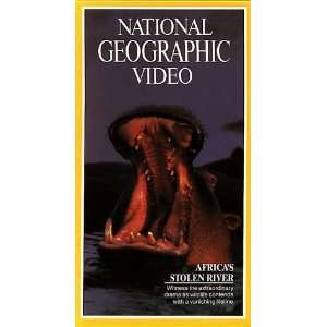Video Africas Stolen River [VHS] National Geographic Movies & TV
