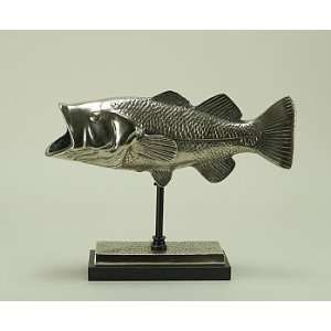 Bass Fish on Stand  Home & Kitchen