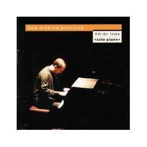 Una Modica Plenitud   Adrian Iaies (CD 2005) Import