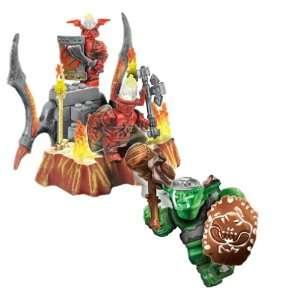 Mega Bloks Fire & Ice Dragons   9856 Fire Sentry Toys & Games