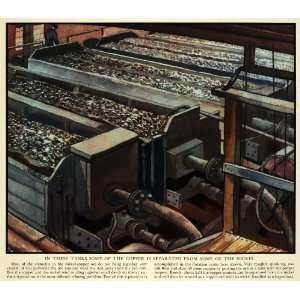 Copper Tank Metal Ore Cliff Sudbury Canada Art   Original Color Print