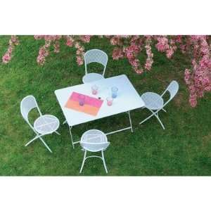 Oasi 329 Series 4 Person Dining Set