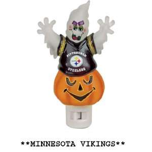 NFL Minnesota Vikings Halloween Ghost Night Light