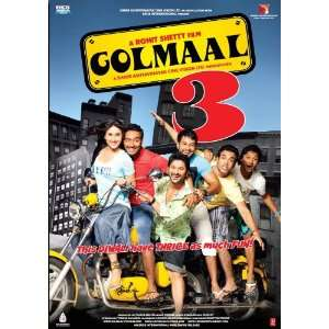 Golmaal 3 [Blu ray] (New Hindi Comedy Film / Bollywood Movie / Indian