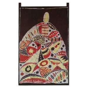 Batik wall hanging, Avenger of Evil Home & Kitchen