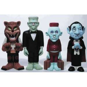 Mad Monster Party Rankin Bass Vinyl Figure Set of 4: Toys