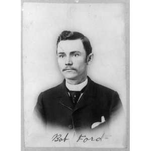 ,1862 1892,American outlaw,killed Jesse James in 1882