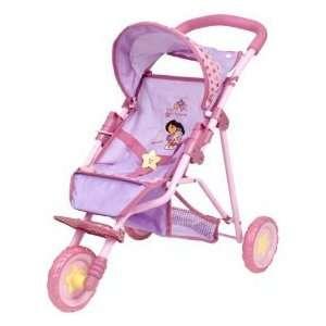 Dora the Explorer, 3 Wheel Baby Stroller: Toys & Games
