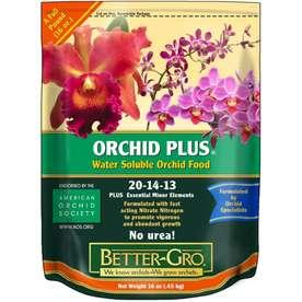 Garden Lawn Care Fertilizer BETTER GRO 1/2 Lb. Orchid Plus Fertilizer