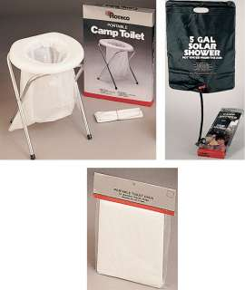 Reusable Portable Camping TOILETS & SHOWERS