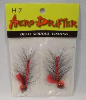 Aero Drifter Hackle H 7 Salmon Steelhead Jigs Lures