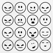 Light heather grey Gesichtsausdrücke / expressions (D, 1c) Kids Tops