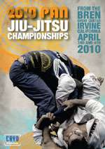 Budovideos   2010 Pan Jiu jitsu Championships 3 DVD Set