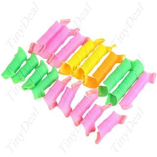 18 x Instant DIY Perm Hairstyle Curler Roller HBI 39925