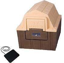 ASL Solutions DP Hunter Insulated Dog House With Floor Heater   Medium