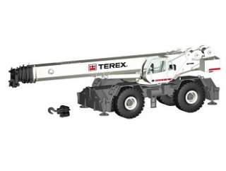 Terex RT1130 Mobile Crane in White (150 scale by NZG NZG764)