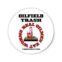 Real Oilmen Eat Worms,Oilfield Sticker,Drilling by boozykelly