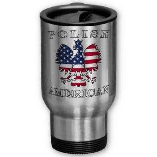 Polish American Flag Eagle Mug by PolishAmerican