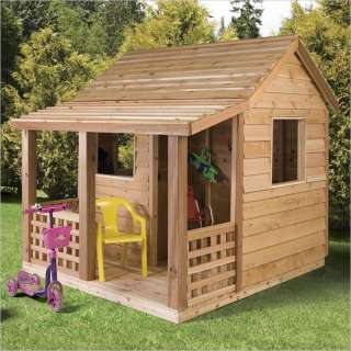Not Available   Cedar Shed Play Cabin Kids Outdoor Playhouse 6Ft x 6Ft
