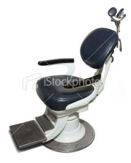 Retro Dentist Chair Royalty Free Stock Photo