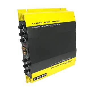 Channel 1400W Car Audio Amplifier Audio Power Amp Amps