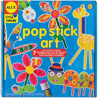 ALEX Toys Pop Stick Art Kit